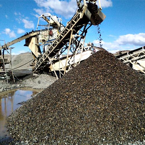 Extracción y Producción de Áridos